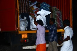 Relief Material in pitch dark